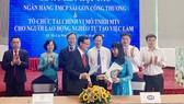 SaiGonBank ký kết với CEP cam kết cấp hạn mức tín dụng 800 tỷ đồng cho người nghèo, người thu nhập thấp vay vốn