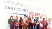 Sàn giao dịch việc làm do Trung tâm Dịch vụ việc làm TPHCM phối hợp Phòng LĐ-TB&XH quận 8 tổ chức