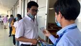 Thí sinh tham dự kỳ thi đánh giá năng lực do ĐH Quốc gia TPHCM tổ chức năm 2020