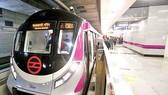 Tuyến tàu điện ngầm không người lái ở Ấn Độ