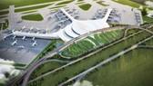 Phối cảnh Cảng hàng không quốc tế Long Thành. Đồ họa: TRÍ THẾ - NGỌC TRÂM (Nguồn: ACV)