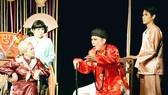 Một cảnh trong vở kịch Cậu Đồng của sân khấu Idecaf