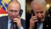 Tổng thống Nga Putin ngày 26/1 đã có cuộc điện đàm với Tổng thống Mỹ Biden. Ảnh: REUTERS