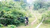 Đường đua xe đạp địa hình tại tỉnh Hòa Bình sẽ được nâng cấp chuẩn bị cho SEA Games 31. Ảnh: P.MINH