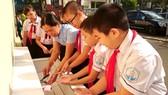 Trường học hưởng ứng tuần lễ môi trường