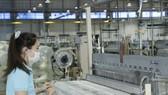 Công nhân làm việc tại Công ty TNHH Leoch Battery (Việt Nam), Khu công nghiệp Becamex  - Bình Phước, huyện Chơn Thành