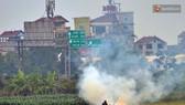 Hà Nội: Chất lượng không khí xấu do đốt rơm rạ