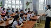 Học sinh Trường Tiểu học An Hội (quận Gò Vấp) trong giờ học năm học 2020-2021