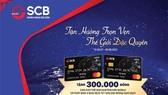 Thẻ tín dụng SCB Mastercard Wolrd - Tận hưởng trọn vẹn thế giới đặc quyền