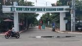 Dự án khu nhà ở Khang Linh. Ảnh: NÔNG NGÂN