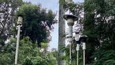 Trạm quan trắc không khí đặt tại Trường THCS Hồng Bàng, quận 5, TPHCM