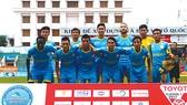 Sanna KH - BVN chơi thăng hoa ở lượt đi V-League 2017.
