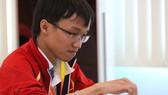 Nguyễn Ngọc Trường Sơn đoạt HCV nội dung cờ chớp. Nguồn: T.L