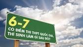 Inforgraphics: Có điểm thi THPT quốc gia, thí sinh làm gì sau đó?
