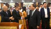 Thủ tướng tham dự hội nghị xúc tiến đầu tư tại Hậu Giang. Ảnh: VGP