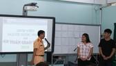 Công an TPHCM phổ biến kiến thức pháp luật về giao thông cho sinh viên nước ngoài đang học  tại Đại học Khoa học Xã hội và Nhân văn TPHCM