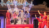 Âm sắc Hương Bình, chương trình nghệ thuật tôn vinh 37 nghệ nhân  sống trọn đời cho ca Huế. Ảnh: VĂN THẮNG