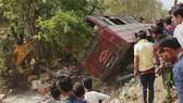 Hiện trường vụ tai nạn. Ảnh: PTI