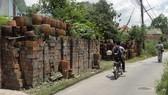 Một góc làng gốm Lái Thiêu. Ảnhh: VĂN PHONG