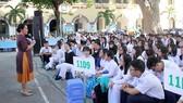 Một buổi tư vấn tâm lý cho học sinh tại Trường THPT Marie Curie (quận 3, TPHCM) Ảnh: THU TÂM