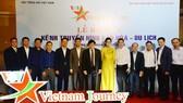 Đài Tiếng nói Việt Nam phối hợp với Bộ Văn hoá, Thể thao và Du lịch tổ chức Lễ ra mắt Kênh truyền hình Văn hoá-Du lịch (Vietnam Journey). Ảnh: VOV