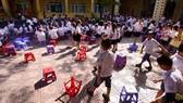 Trường học chủ động ứng phó nắng nóng