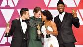 4 diễn viên chiến thắng các hạng mục diễn xuất  tại Oscar 2019. Ảnh: OSCAR