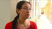 Cô giáo Trần Thị Minh Châu - giáo viên Trường THPT Long Thới