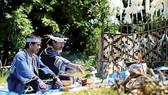 Một buổi sinh hoạt văn hóa của người Ainu