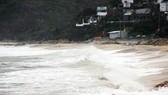 100 tỷ đồng nâng cấp kè biển bị bão đánh sập