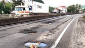 Khẩn trương khắc phục quốc lộ 1A hư hỏng sau mưa