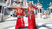 Xu hướng chụp ảnh cưới theo phong cách cổ trang Trung Quốc đang thịnh hành trong giới trẻ