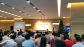 Một hội nghị nhà chung cư tại quận 10, TPHCM. Ảnh: Phan Nguyễn