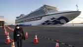 Tàu du lịch Diamond Princess tại cảng Yokohama, Nhật Bản hôm 10-2. Ảnh: AP