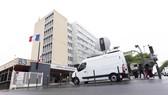 Bệnh viện Pitie Salpetriere, Paris, Pháp nơi xác nhận công dân Pháp đầu tiên tử vong do Covid-19. Ảnh: REUTERS