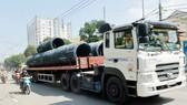 Kiểm soát trọng tải xe là một trong những biện pháp trọng tâm đảm bảo an toàn giao thông đường bộ. Ảnh: CAO THĂNG