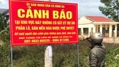 """Chính quyền huyện Châu Đức cảnh báo về """"dự án ma"""" ở xã Bình Ba"""