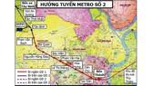 Khẩn trương giải phóng mặt bằng tuyến metro số 2 Bến Thành - Tham Lương