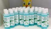 Sản xuất gel rửa tay diệt khuẩn