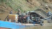 Công an tỉnh Bình Phước phản hồi vụ khai thác cát trái phép trên sông Đồng Nai
