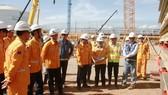 Tổng giám đốc PV Gas thăm dự án kho cảng LNG Thị Vải