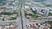 Nút giao thông Mỹ Thủy trên đường Vành đai 2. Ảnh: CAO THĂNG