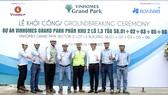 Hòa Bình khởi công Vinhomes Grand Park khu Origami - Phân khu 2