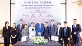 City Garden Thủ Thiêm hợp tác 4 nhà phân phối lớn cho Hudson Tower - Dự án The River