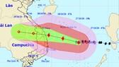 Sáng mai 28-10, bão số 9 mạnh cấp 12, giật cấp 15 tiến vào Đà Nẵng - Phú Yên