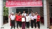 Vedan Việt Nam trao tặng 4 căn nhà Chữ thập đỏ cho các hộ nghèo tại tỉnh Đồng Nai