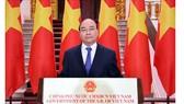Thủ tướng Chính phủ Nguyễn Xuân Phúc phát biểu tại lễ khai mạc. Ảnh: TTXVN