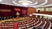 Toàn cảnh Hội nghị Trung ương 14 khóa XII. Ảnh: VGP