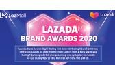 Lazada Brand Awards vinh danh 12 thương hiệu đối tác nổi bật năm 2020