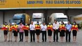 ĐBSCL: Xuất khẩu lô hàng tôm đầu năm